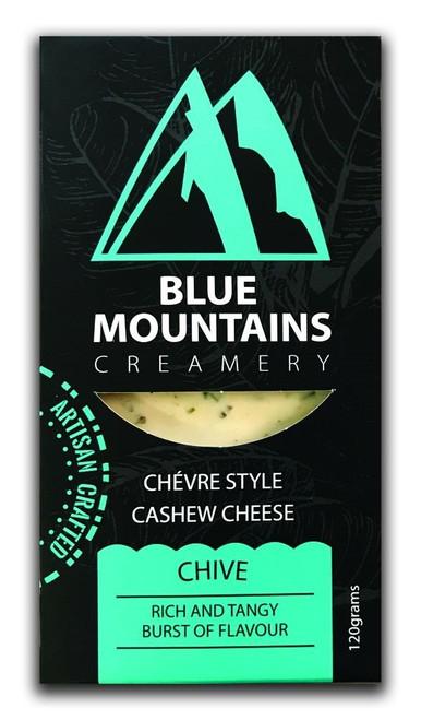 Chive Cashew Cheese Block Vegan 120g - Blue Mountains Creamery