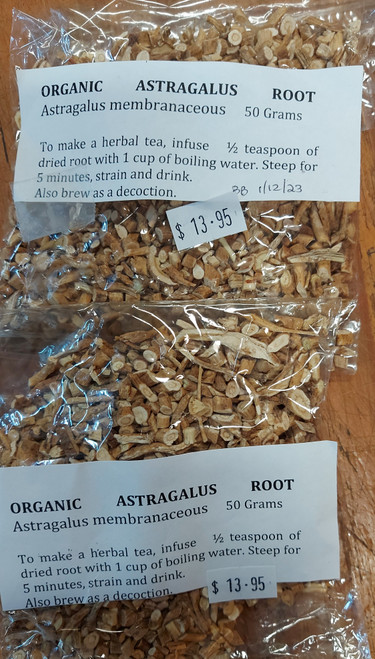 Astragalus Loose Leaf Tea 50g - Herbs are Special