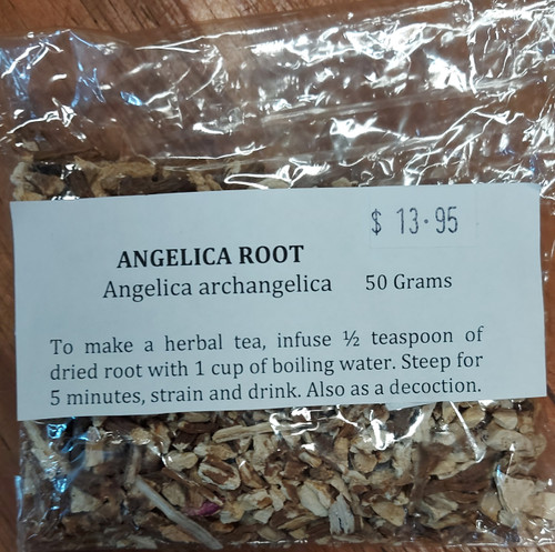 Angelica Root Loose Leaf Tea 50g - Herbs are Special