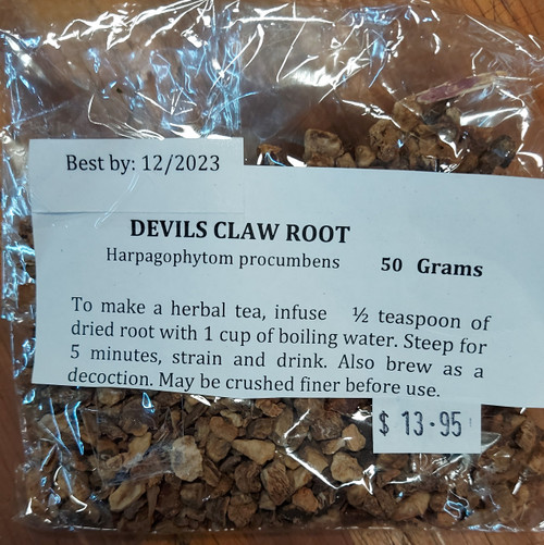 Devils Claw Loose Leaf Tea 50g - Herbs are Special