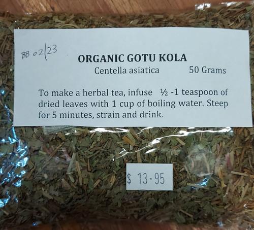 Gotu Kola Loose Leaf Tea 50g - Herbs are Special
