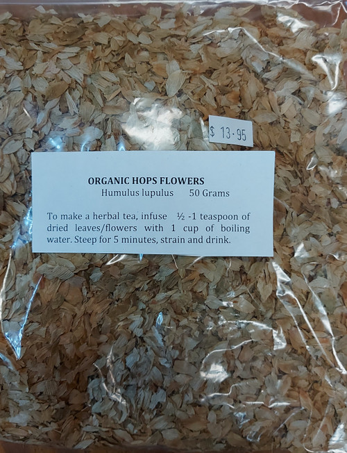 Hops Flowers Loose Leaf Tea 50g - Herbs are Special