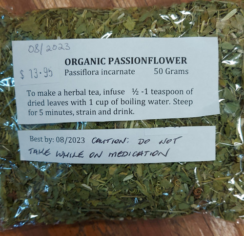 Passionflower Loose Leaf Tea 50g - Herbs are Special