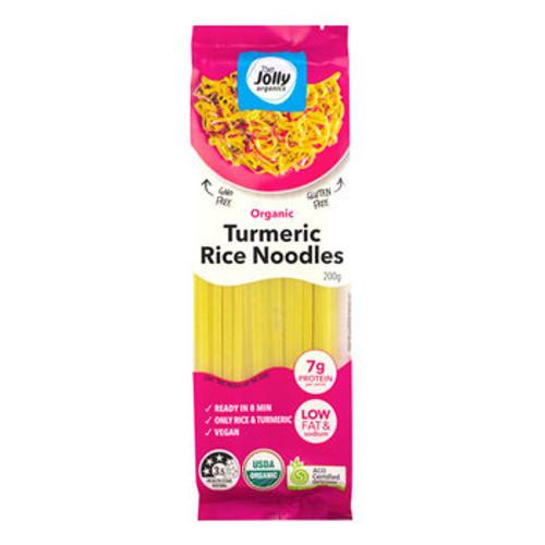 Turmeric Rice Noodles Organic 200g - Jolly