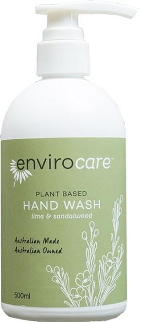 Hand Wash Lime & Sandalwood 500ml - Enviro Care
