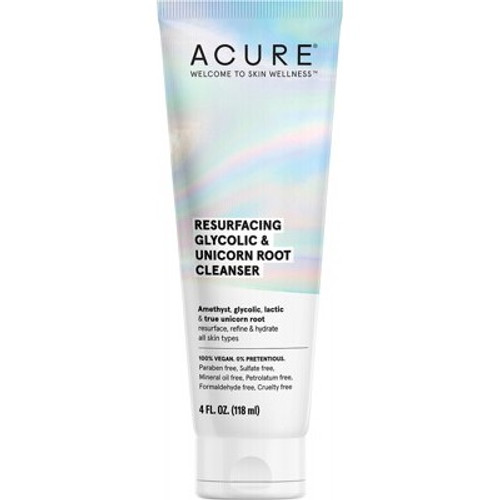 Cleanser Resurfacing Glycolic & Unicorn Root 118ml - Acure