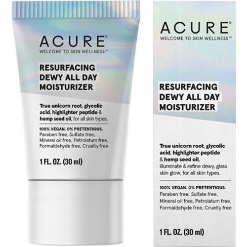 Moisturiser Resurfacing Dewy All Day 30ml - Acure