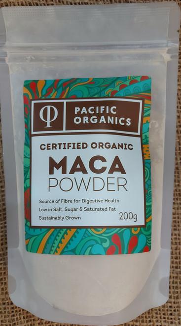 Maca Powder Organic 200g - Pacific Organics