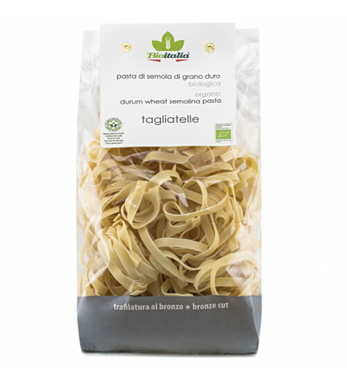 Pasta Nidi Tagliatelle Organic 500g - Bioitalia