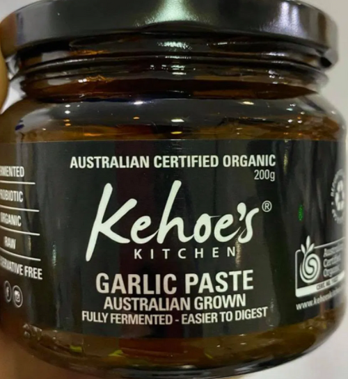 Fermented Garlic Paste Organic 200g - Kehoes Kitchen