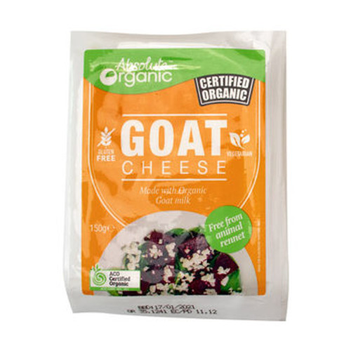 Goat Cheese Organic 150g - Absolute Organic