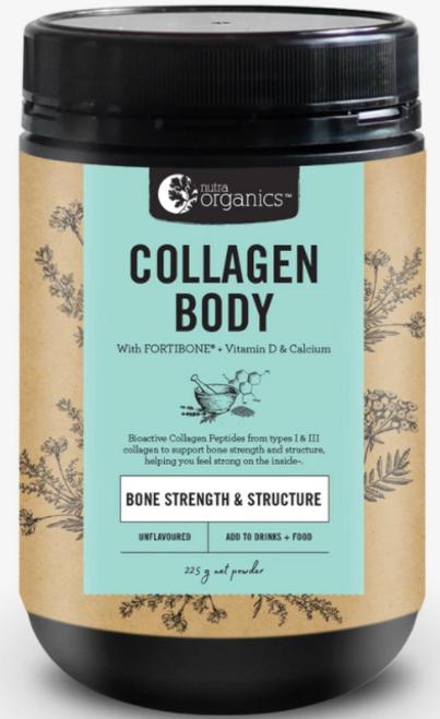 Collagen Body + Fortibone 225g  - Nutra Organics