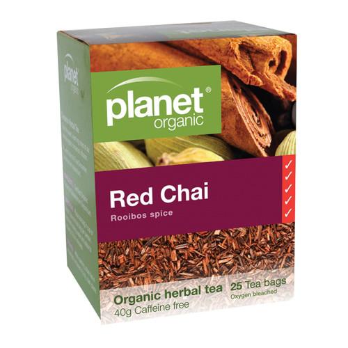 Chai Red (Rooibos) Tea Organic 25 bags - Planet Organic
