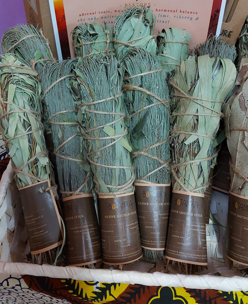 Smudge Stick Native Eucalyptus & She Oak - Botanika Herbals