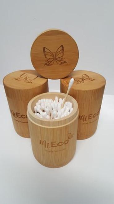 Cotton Buds Bamboo Tube 100pcs