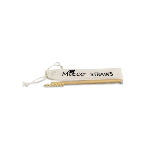Straw Cleaning Brush Bamboo & Hemp