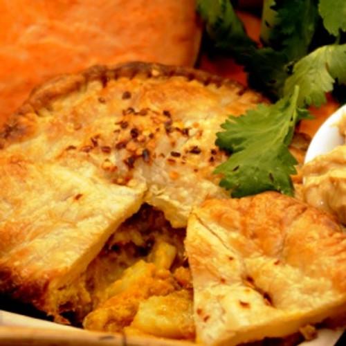 G'Day Satay Pie Vegan Frozen - Funky Pies