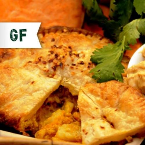G'Day Satay Pie Vegan Gluten Free Frozen - Funky Pies