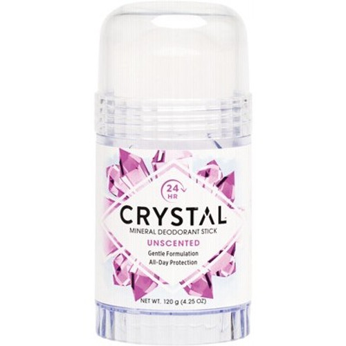 Unscented Mineral Deodorant Stick 120g - Crystal
