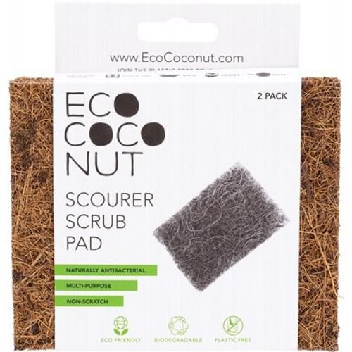 Scourer Scrub Pad x 2 Brush - Eco Coconut