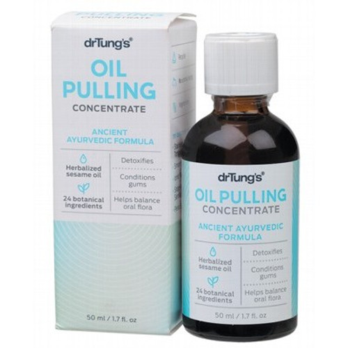 Oil Pulling Concentrate Ayurvedic Formula 50ml - Dr Tung's