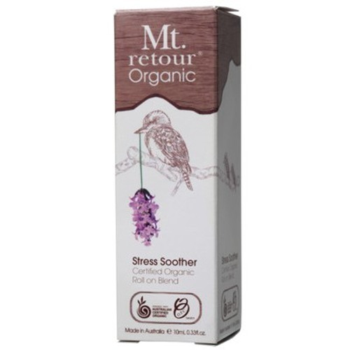 Essential Oil Stress Soother Blend Roll On Organic 10ml - Mt Retour