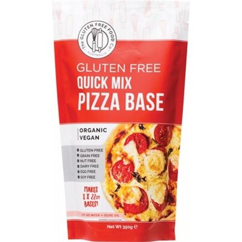 Pizza Base Quick Mix  Gluten Free Organic 350g - The Gluten Free Food Co