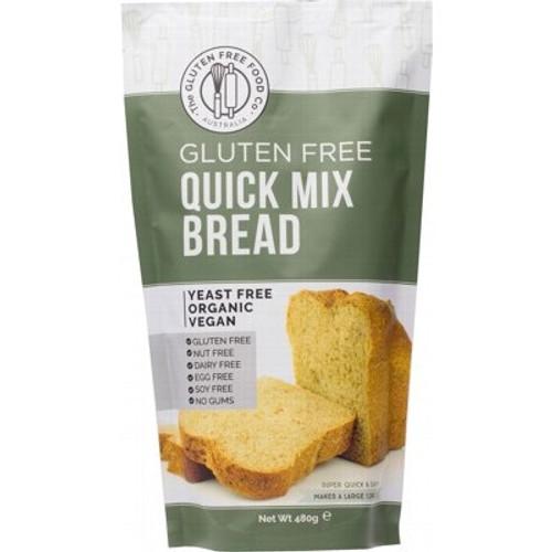 Bread Quick Mix Gluten Free Organic 350g - The Gluten Free Food Co