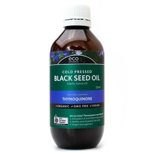 Black Seed Oil Organic 200ml - Eco Organics