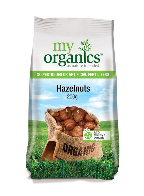 Hazelnuts Organic 200g - My Organics