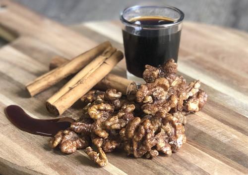 Walnuts Maple Cinnamon Activated Organic Bulk per 100g - ONS