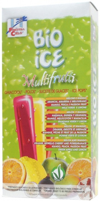 Ice Pop Bio Ice Multifrutti Organic (10 x 40ml) - Finestra Cielo