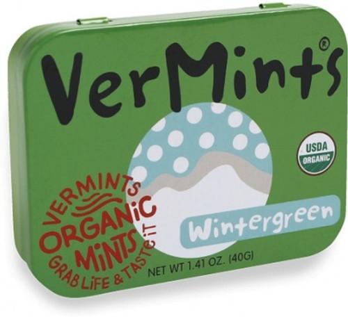 Mints Wintergreen Organic 40g - Vermints
