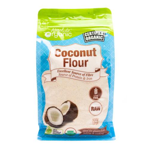 Coconut Flour Organic 500g - Absolute Organic