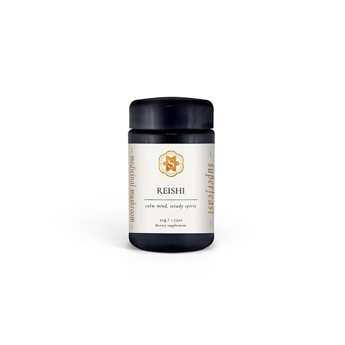 Wild Crafted Reishi Extract 50g Jar - Superfeast