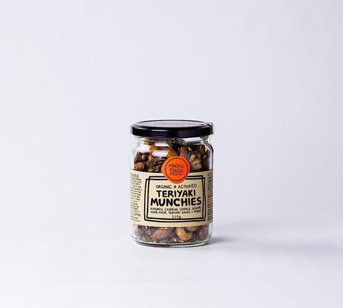 Teriyaki Munchies Activated Raw Organic 225g - Mindful Foods