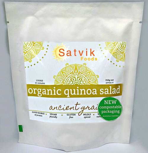Quinoa Salad Organic 175g - Satvik Foods
