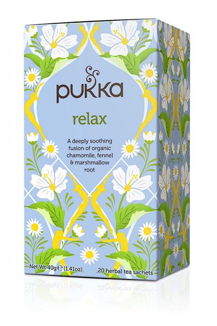 Relax Organic Tea 20 Bags - Pukka