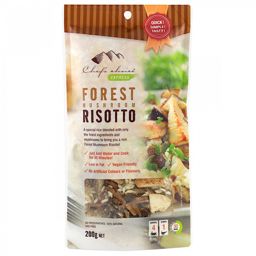 Forest Mushroom Risotto 200g - Chef's Choice