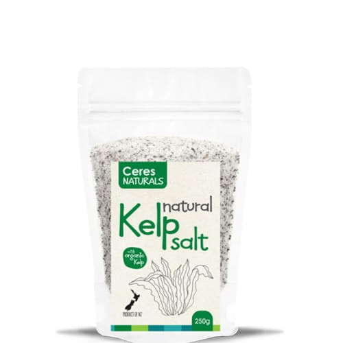 Kelp Salt Natural 250g - Ceres Naturals