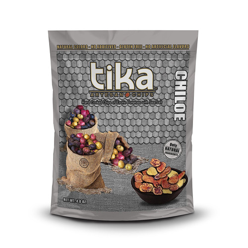 Chips Chiloe Exotic Potatoes 135g - Tika