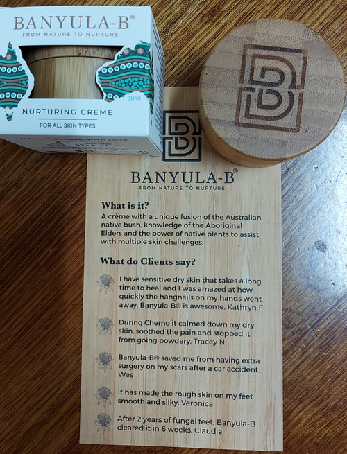 Nurturing Balm with Australian Bush Botanicals 30ml- Banyula-B