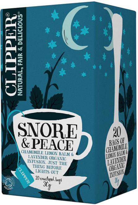 Snore & Peace Tea Organic 20 bags - Clipper