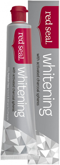 Toothpaste Whitening (Activated Charcoal) 100g - Red Seal