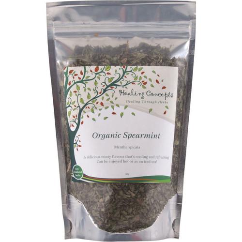 Spearmint Tea Organic Loose Leaf 40g - Healing Concepts