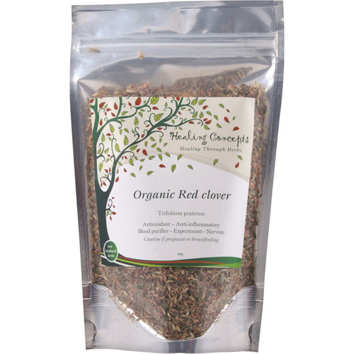 Red Clover Organic Loose Leaf Tea 40g -Healing Concepts