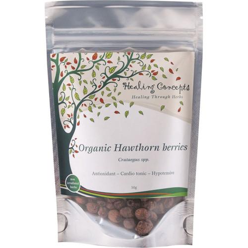 Hawthorn Berries Loose Tea Organic 50g - Healing Concepts
