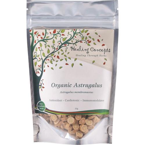 Astragalus Loose Leaf Tea Organic 50g - Healing Concepts