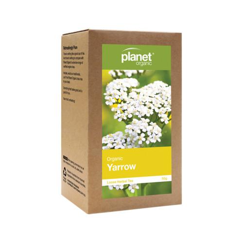 Yarrow Loose Leaf Tea Organic 50g - Planet Organic