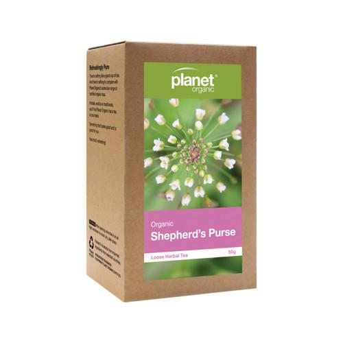 Shepherd's Purse Organic Loose Leaf Tea 50g - Planet Organic
